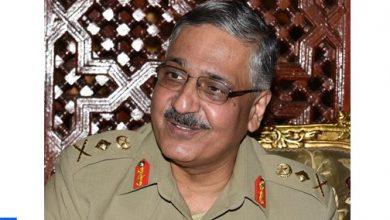 Photo of المفتش العام للقوات المسلحة الملكية يستقبل رئيس هيئة الأركان المشتركة للقوات المسلحة الباكستانية