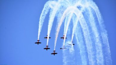 Photo of القوات الملكية الجوية تنظم استعراضا باهرا في أجواء المضيق – الفنيدق بمناسبة عيد العرش المجيد