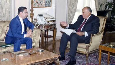 Photo of رسالة من الملك محمد السادس إلى الرئيس المصري