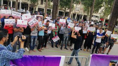 """Photo of بالصور والفيديو: أجواء ومعطيات حول جلسة محاكمة حامي الدين في قضية """"أيت الجيد"""""""