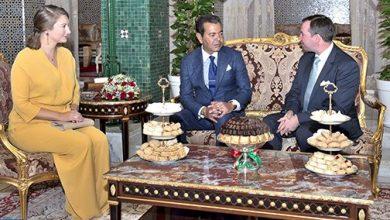 Photo of الأمير مولاي رشيد يستقبل الدوق الأكبر ولي عهد اللوكسمبورغ وعقيلته