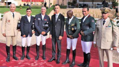 Photo of ولي العهد يترأس بتمارة حفل تسليم الجائزة الكبرى للملك محمد السادس للمباراة الرسمية للقفز على الحواجز