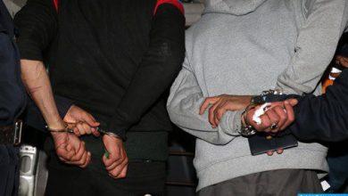 Photo of أكادير: توقيف شخصين للاشتباه في ارتباطهما بشبكة تنشط في الاتجار بالمخدرات