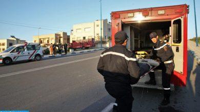 Photo of انقلاب حافلة نقل المسافرين بإقليم الرشيدية: العثور على جثة امرأة من ضمن المفقودين