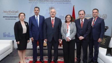 Photo of الدبلوماسية القضائية:  رئيس النيابة العامة يجري لقاءات ثنائية مع رؤساء النيابات الأجانب