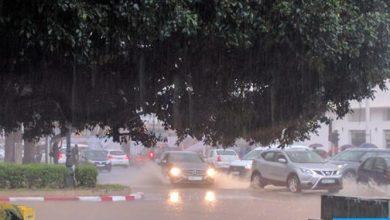 Photo of ابتداء من الاثنين: أمطار قوية وأحيانا عاصفية بالعديد من مناطق المملكة