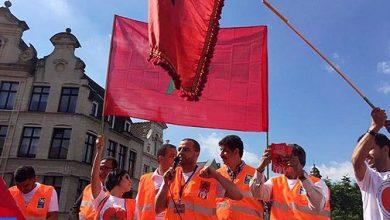 Photo of إدانة بالإجماع لتدنيس العلم الوطني خلال مظاهرة في باريس