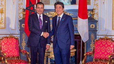 Photo of صاحب السمو الملكي الأمير مولاي رشيد يتباحث بطوكيو مع الوزير الأول الياباني
