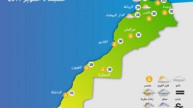 Photo of توقعات أحوال الطقس اليوم السبت