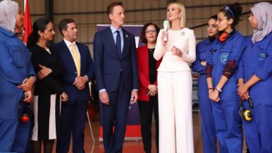 Photo of الدار البيضاء: إیفانكا ترامب تزور المعهد المتخصص في مهن الطیران ولوجستیك المطارات