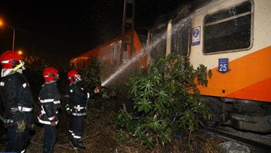 Photo of المغرب: قطار يضطر للتوقف إثر اشتعال حريق بمرحاض إحدى العربات
