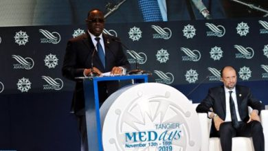 Photo of رئيس السنغال ماكي سال يتسلم بطنجة الجائزة الكبرى ميدايز 2019