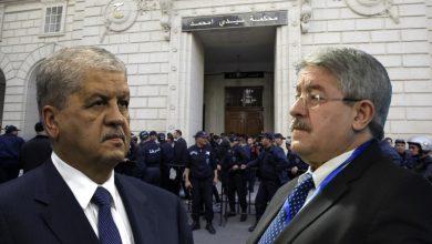 Photo of الجزائر: الحكم بسجن رئيسي الحكومة السابقين أحمد أويحيى (15 سنة) وعبد المالك سلال (12 سنة)