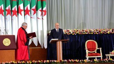 Photo of عبد المجيد تبون يؤدي اليمين الدستورية ليتولى مهامه بشكل رسمي رئيسا للجزائر