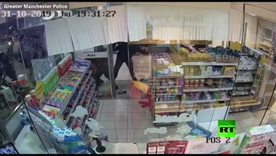 Photo of فيديو: وطاويط تقتحم متجرا وتحمل ما خف وزنه وغلا ثمنه