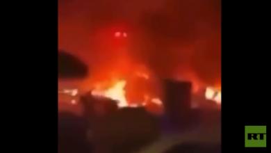 Photo of فيديو: لحظة استهداف موكب قاسم سليماني بالصواريخ