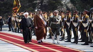 Photo of فيديو: أمیر قطر يصل طهران للقاء خامنئي وروحاني
