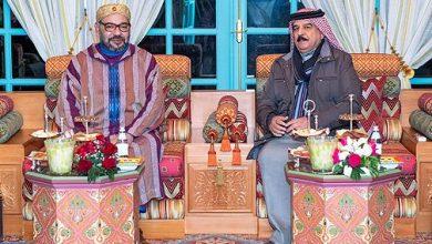 Photo of الملك يجري لقاء وديا بالرباط مع ملك البحرين الذي يقوم بزيارة خاصة للمغرب