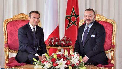 Photo of بلاغ من الديوان الملكي بخصوص الاتصال الهاتفي للرئيس الفرنسي بالملك محمد السادس