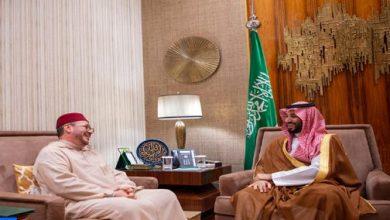 Photo of ولي عهد السعودية يستقبل مستشار الملك فؤاد عالي الهمة الذي أبلغه رسالة شفوية من جلالة الملك