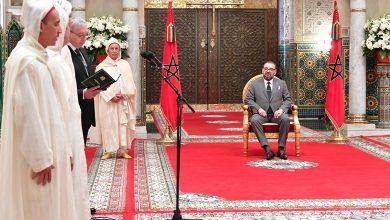 Photo of بلاغ الديوان الملكي: جلالة الملك يستقبل الأعضاء الأربعة الجدد المعينين بالمحكمة الدستورية