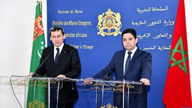 Photo of المغرب وتركمنستان يجددان تمسكهما بالدفاع عن السيادة الوطنية والوحدة الترابية للدول ذات السيادة