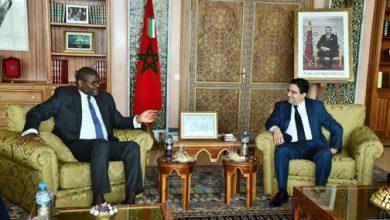 Photo of سبل تعزيز التعاون الثنائي محور مباحثات السيد بوريطة مع وزير خارجية ليبيريا