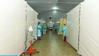 Photo of وتيرة إنجاز المستشفى الميداني بالدار البيضاء تسير وفق البرنامج الزمني المحدد للمشروع