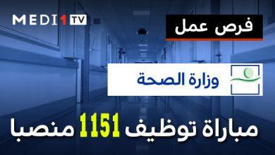 Photo of مباراة توظيف 1151 منصبا بوزارة الصحة في عدة تخصصات