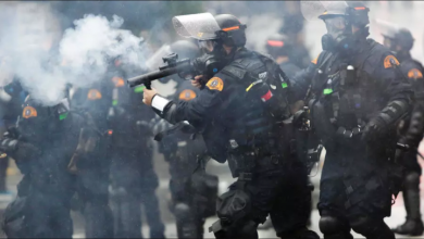 "Photo of فيديو: ""تظاهرات أميركا تتمدد .. نهب واحتجاج وعنف"""