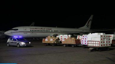 Photo of كوفيد-19 : وصول مساعدات طبية مغربية إلى دكار