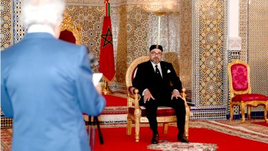 Photo of تطوان: الملك محمد السادس يستقبل والي بنك المغرب