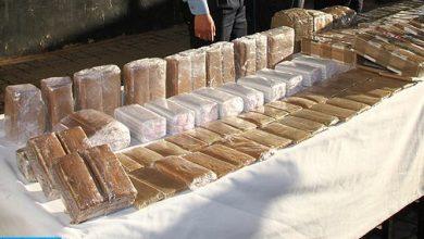 Photo of كلميم: حجز 860 كلغ من الشيرا بحوزة شخص مرتبط بشبكة للتهريب الدولي للمخدرات