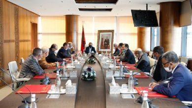 "Photo of رئيس الحكومة يتباحث مع برلمانيي جهة فاس-مكناس حول ""كارثة البَرَدِ"" التي لحقت بالمنطقة"
