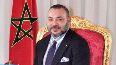 Photo of الملك محمد السادس يهنئ الرئيس الفرنسي بمناسبة احتفال بلاده بعيدها الوطني