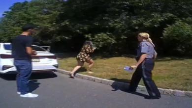 Photo of فيديو: عرض زواج مذهل برعاية الشرطة الأمريكية