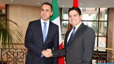 Photo of لويجي دي مايو يعرب عن تقدير روما لدور المغرب في حل الأزمة الليبية