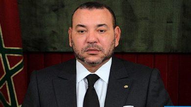"""Photo of الملك محمد السادس يعزي في وفاة الخليفة العام للأسرة التجانية نياس بمدينة """"كولخ"""""""