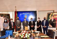 Photo of وفد من المديرية العامة للأمن الوطني يعقد اجتماعا مع سفير بريطانيا بالمغرب
