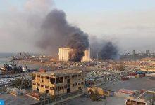 Photo of فيديو: انفجار ضخم في مرفأ بيروت يوقع عشرات الإصابات