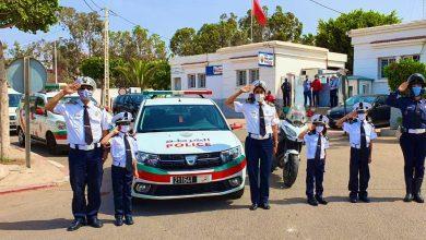 Photo of بالصور: ولاية أمن أكادير تحتفي بثلاث شقيقات عبّرن عن حبهن لمهنة الشرطة