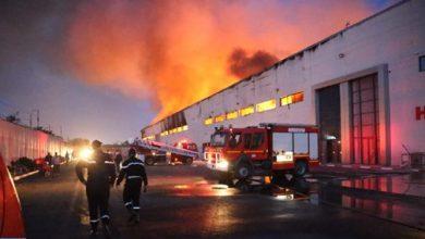 Photo of فيديو: اندلاع حريق كبير بمستودع للتخزين بالدار البيضاء مخلفا خسائر مادية