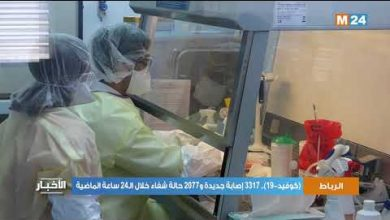 Photo of فيديو: تفاصيل الحالة الوبائية بالمغرب خلال ال24 ساعة الماضية