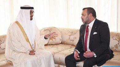 Photo of بلاغ للديوان الملكي حول اتصال هاتفي بين الملك محمد السادس ومحمد بن زايد