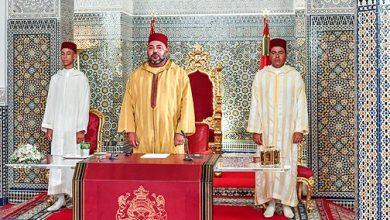 Photo of الملك محمد السادس: الظروف الحالية تفرض دعم صمود قطاع الفلاحة وتسريع تنفيذ جميع البرامج الفلاحية