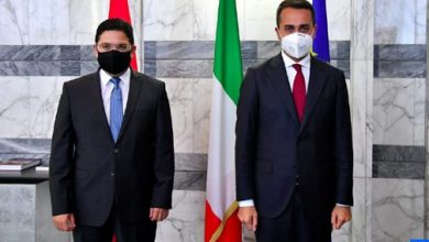 Photo of وكالة أنباء إيطالية: اللقاء بين وزيري خارجية المغرب وإيطاليا تأكيد على الصداقة العريقة بين البلدين