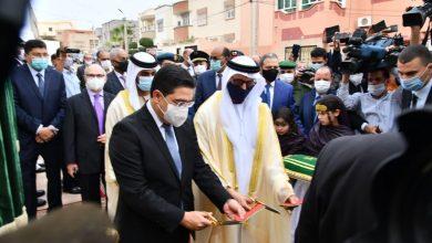 Photo of بالصور: دولة الإمارات العربية المتحدة تفتح قنصلية عامة لها بالعيون