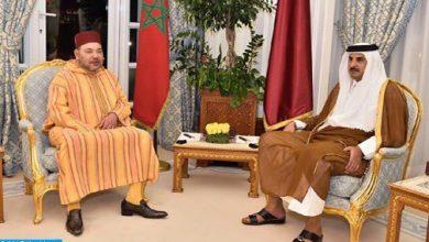Photo of بلاغ للديوان الملكي حول تلقي الملك محمد السادس  لاتصال هاتفي من أمير قطر