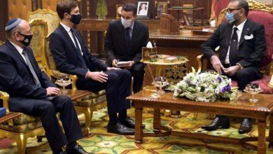 Photo of فيديو: تفاصيل استقبال الملك محمد السادس للوفد الأمريكي الإسرائيلي