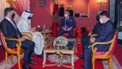 Photo of الملك محمد السادس يستقبل وزير الخارجية والتعاون الدولي الإماراتي